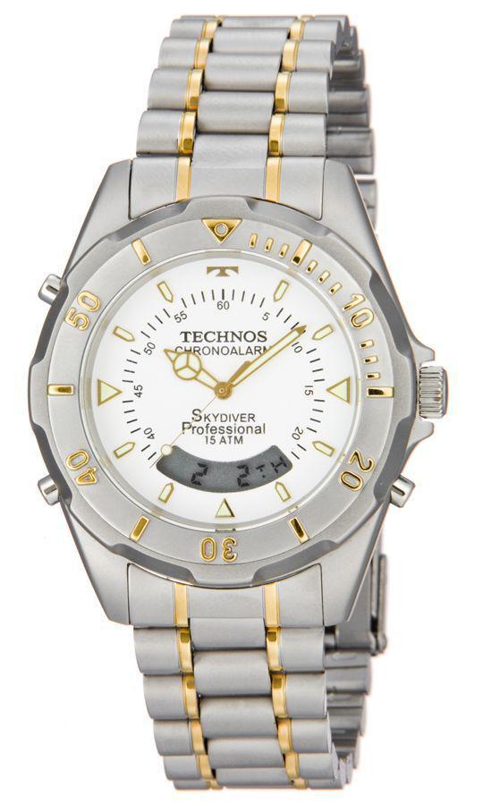 Relógio Technos Masculino SKYDIVER T20557 9B Bicolor R  465,00 à vista.  Adicionar à sacola 2145e66468