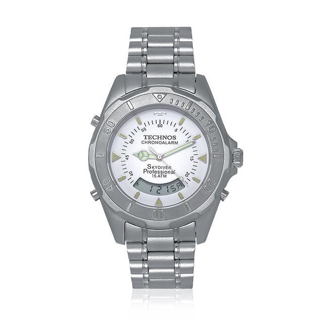 Relógio Technos Performance Skydiver Chronoalarm R  389,00 à vista.  Adicionar à sacola 97fa53df7f