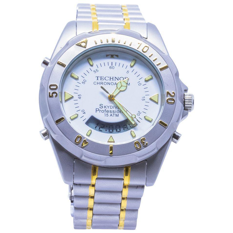 1fab4c886e0 Relógio Technos Skydiver Professional Analógico digital Masculino -  T20557 9B Produto não disponível