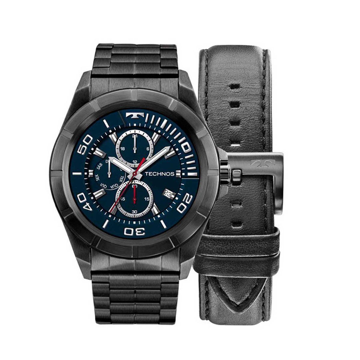 46552f97d20 Relógio Technos Skydriver Masculino Smartwatch Troca Pulseira SRAC 4P R   1.276