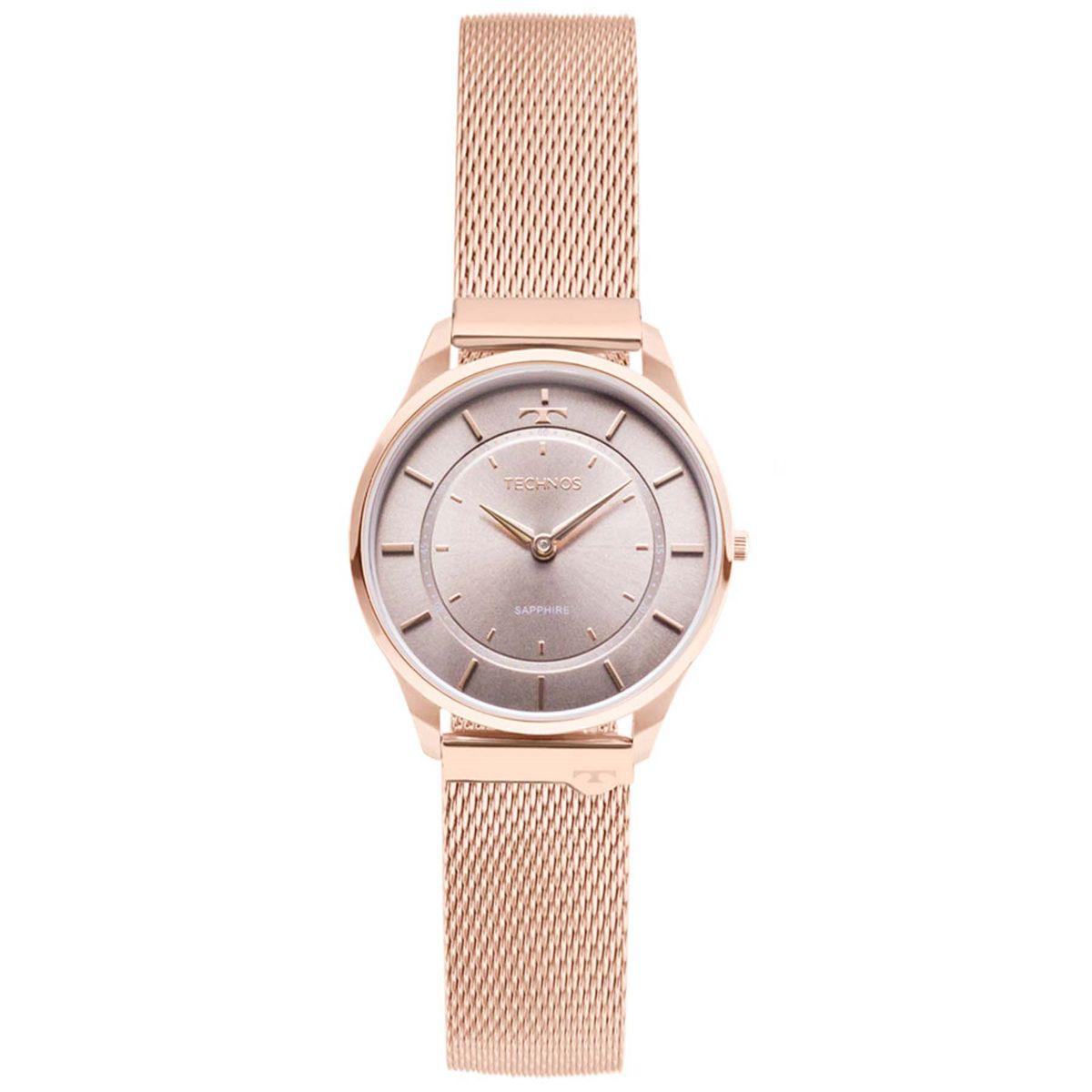 7a774ac522d25 Relógio Technos Slim Analógico Feminino 9T22AL 4C - Relógio Feminino ...