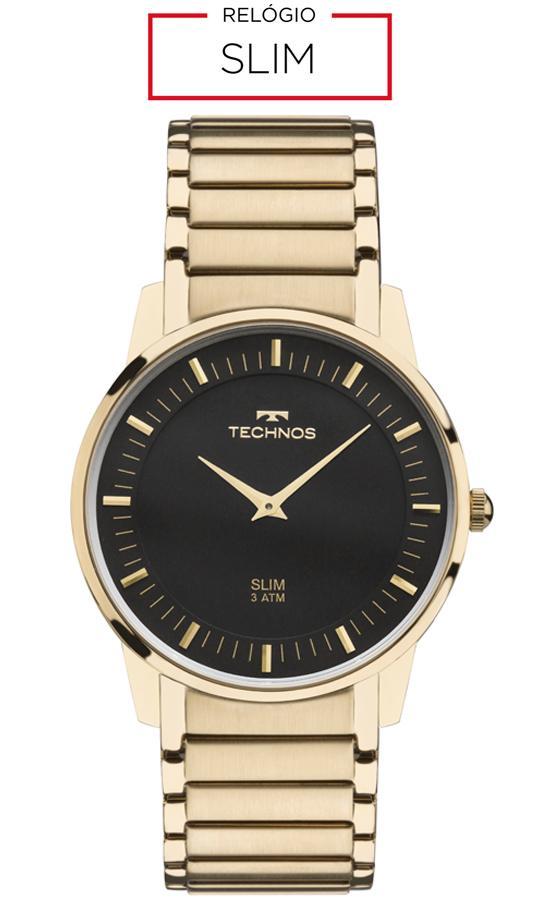 Relógio Technos Unissex Classic Slim Analógico GL20AQ 4P Produto não  disponível 18b00b08a6