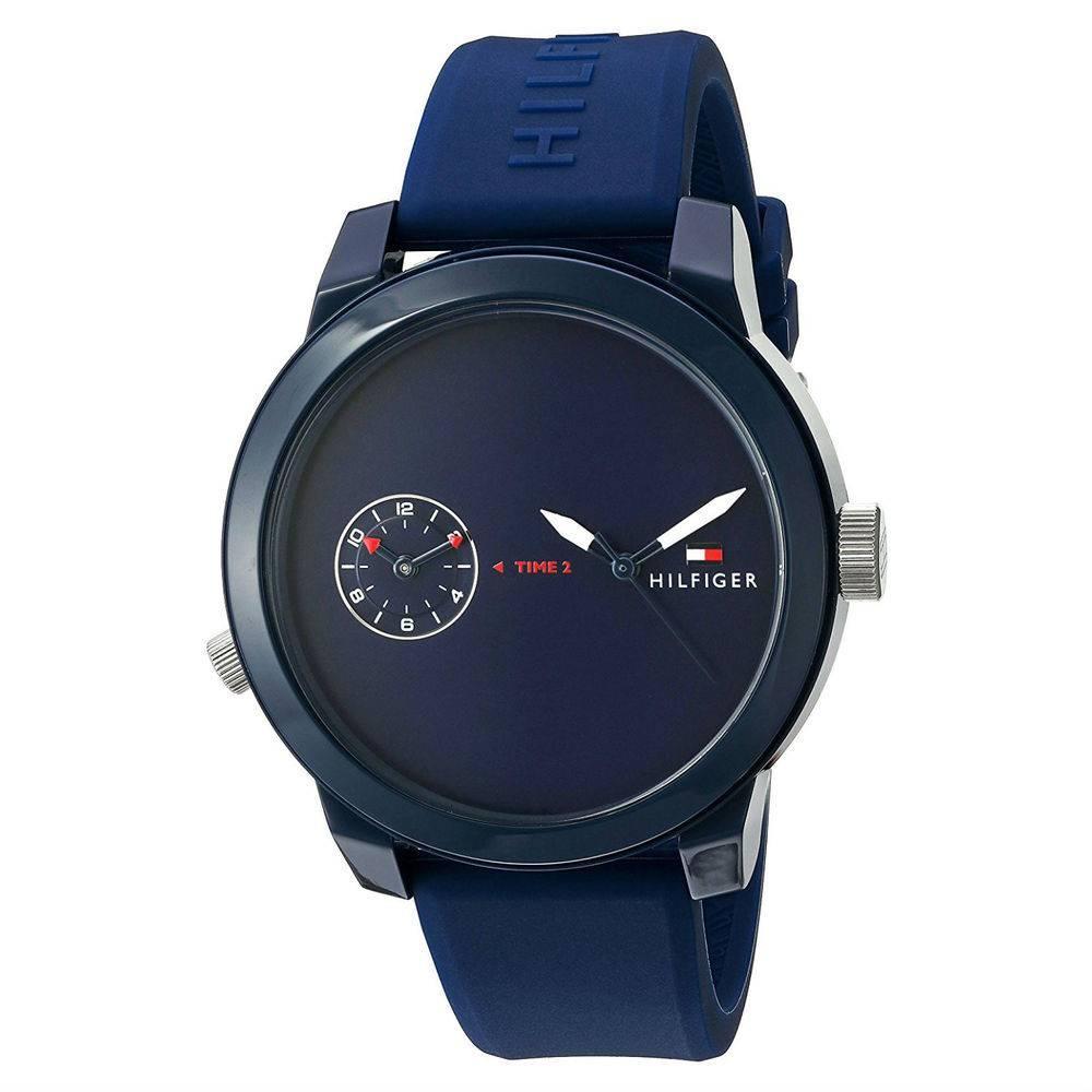 8ea95a90fbb Relógio Tommy Hilfiger Masculino Azul 1791325 - Relógio Masculino ...