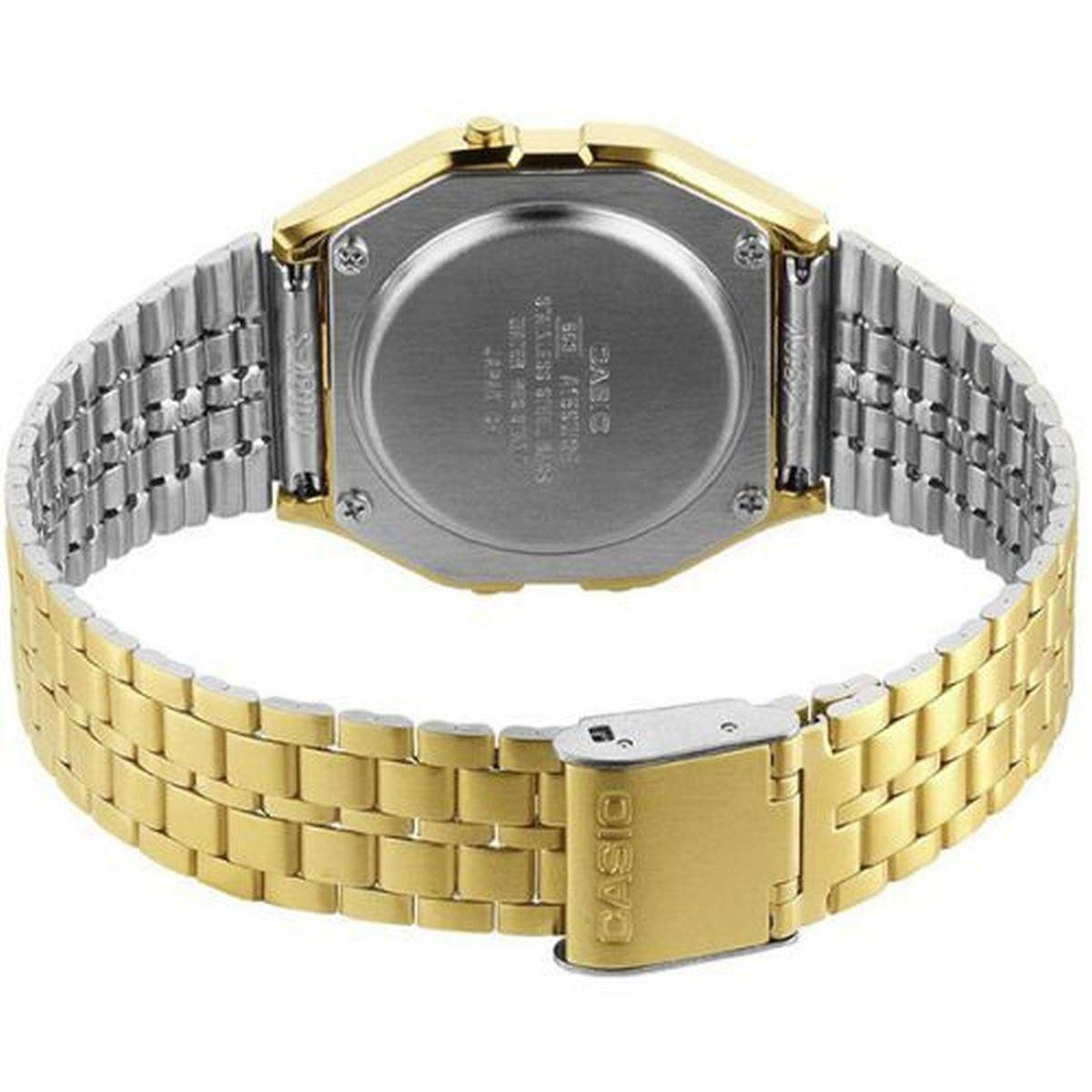 0ba5689b3ac Relogio Unissex Casio Digital A159wgea-1df - Preto dourado - Relógio ...