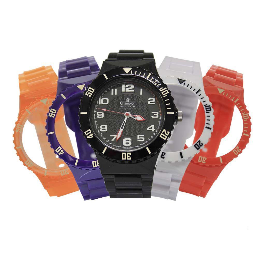2fcd9cb95ef Relógio Unissex Champion Troca Pulseiras CP38086X   53762 Produto não  disponível