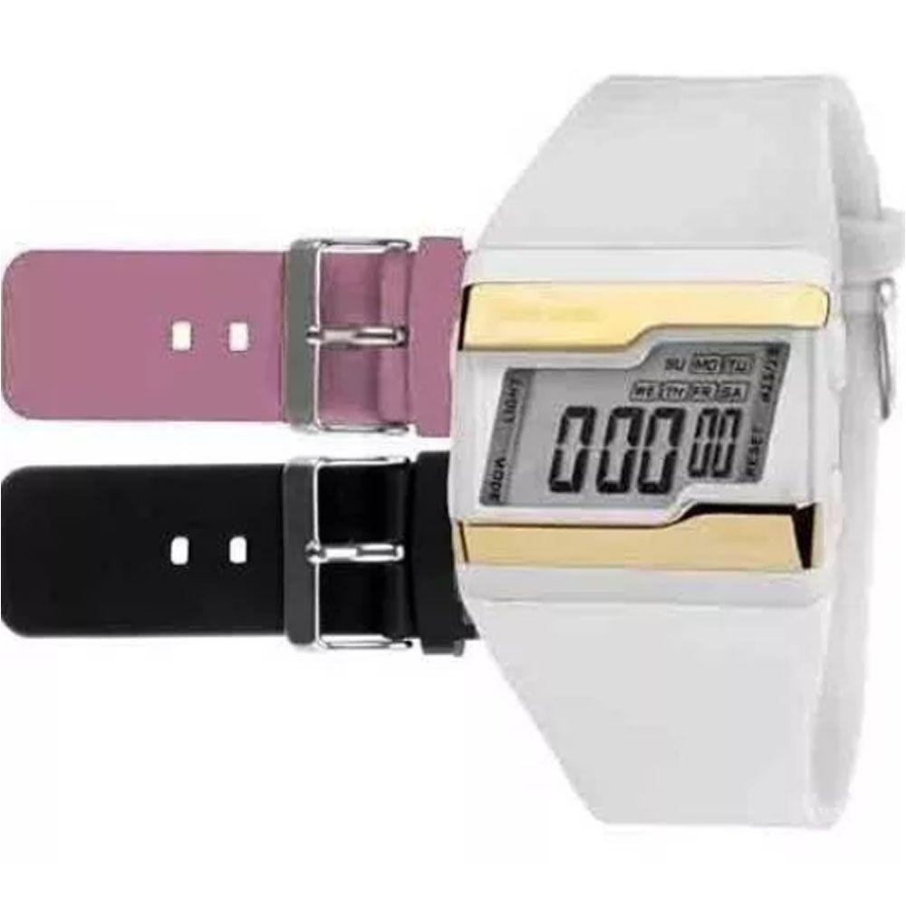 7f212f763d5 Relógio Unissex Mormaii Acquarela FZV 8T Troca Pulseiras Produto não  disponível
