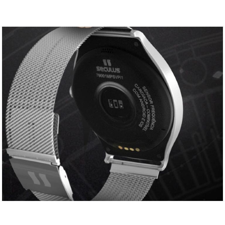 35c8b6cb8be Relógio Unissex Smartwatch Urbano 79001M0SVNE2 Seculus - Smartwatch ...