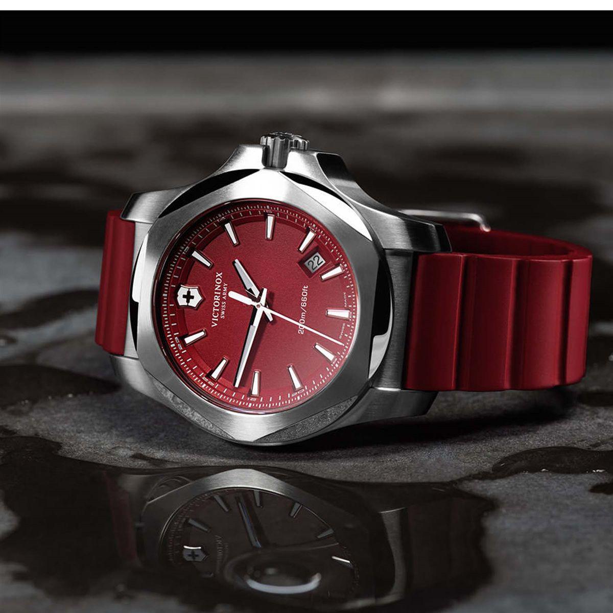 9dc55b98ed6 Relógio Victorinox Swiss Army I.N.O.X Red 241719.1 Produto não disponível