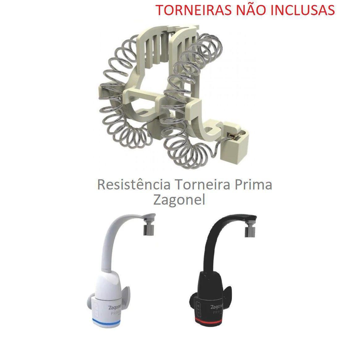 Resistencia eletr torneira prima 5500w 220v - Zagonel - Resistências  Elétricas - Magazine Luiza