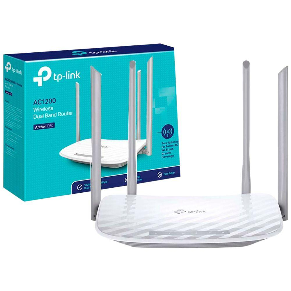 Roteador tp-link archer c5 dual band wireless ac 1200mbps - tpl0306