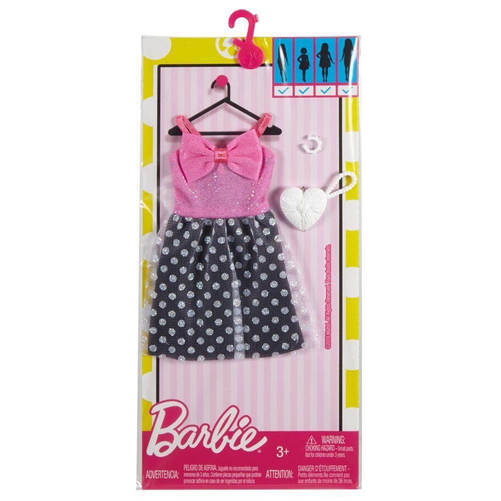 a0cca1d98 Roupinha para Boneca Barbie - Look Completo - Vestido Estilo Anos 60 -  Mattel Produto não disponível