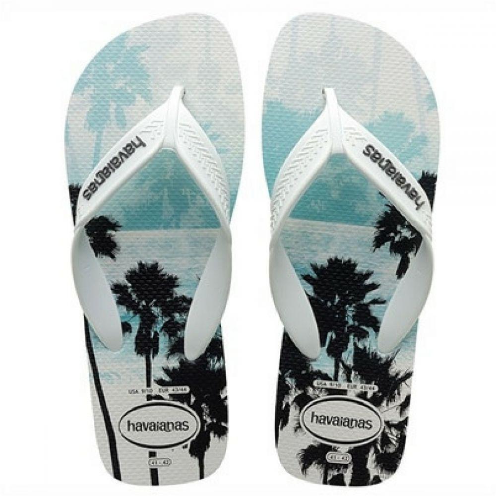 4e27a68a5 Sandália Chinelo Surf Branco Preto 41 / 42 Havaianas - Moda para ...