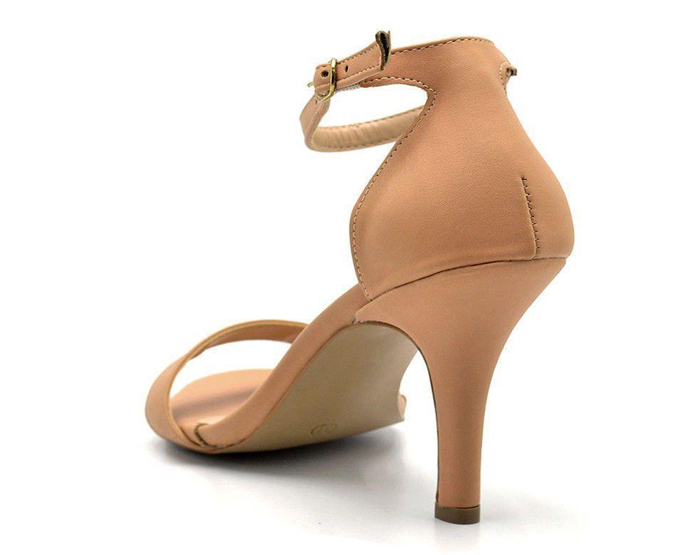e99c04c37 Sandália Feminina 1725-ND Nude - Gasparini R$ 142,59 à vista. Adicionar à  sacola