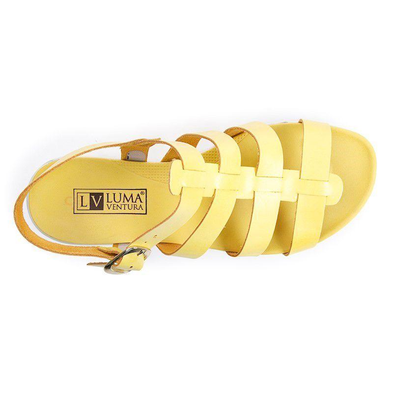 e4bb069903 Sandália feminina flat luma ventura jaqueline 22012 amarela yellow R  29