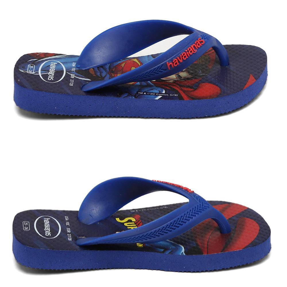 3da2928ab Sandálias Havaianas Kids Max Heróis Azul Naval 4130302-2711 R  32