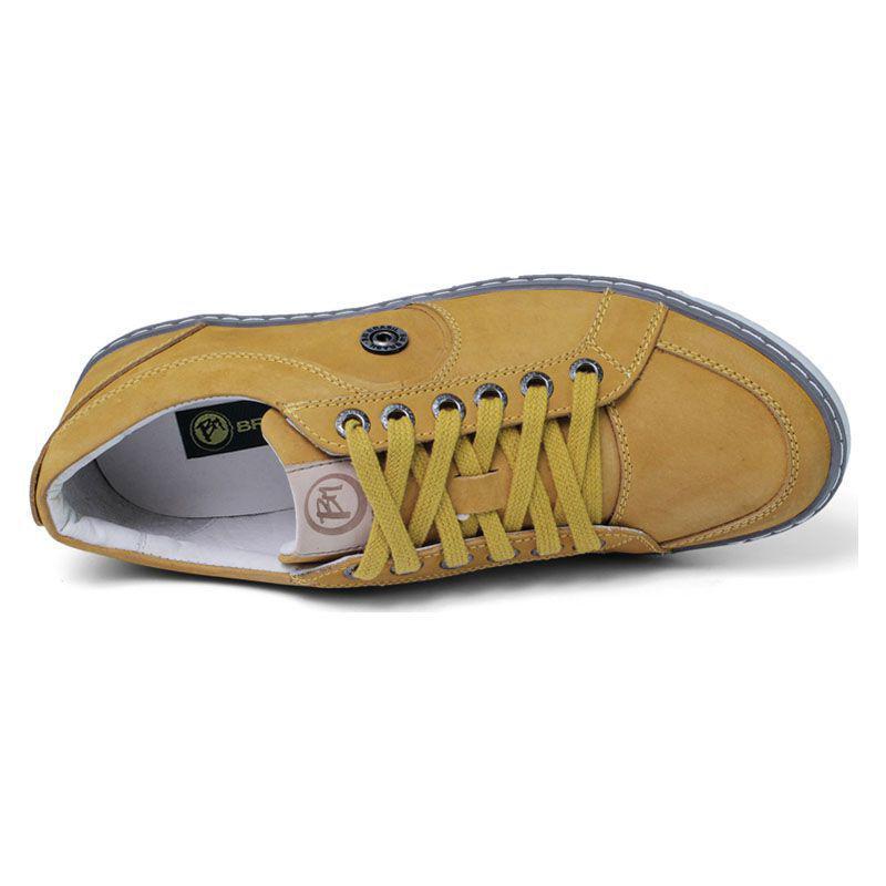 93e1ec6c95a Sapatênis Amarelo Masculino - Mostarda 759-12 - Bmbrasil R  175