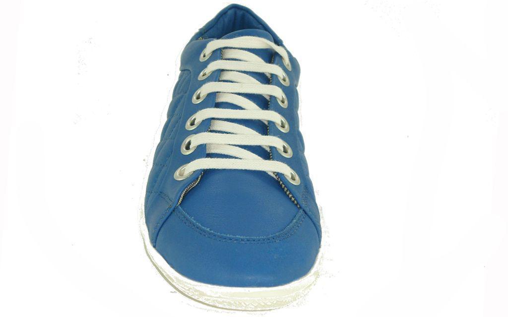 65996a47b4 Sapatenis feminino em couro Gasparini 100705 azul - Tênis - Magazine ...