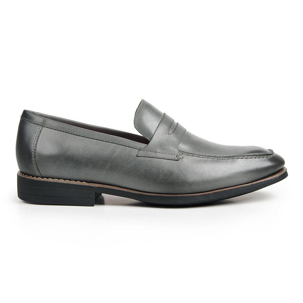 755656738 Sapato casual masculino loafer sandro moscoloni el dorado cinza grey R$ 275,00  à vista. Adicionar à sacola