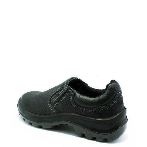 14a3b6225c Sapato elástico marluvas vulcaflex bico de aço preto - Sapato ...