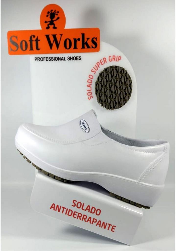 0951f1005 Sapato Enfermagem - Lady Works - Soft Works BB 95 - FEMININO R$ 68,00 à  vista. Adicionar à sacola