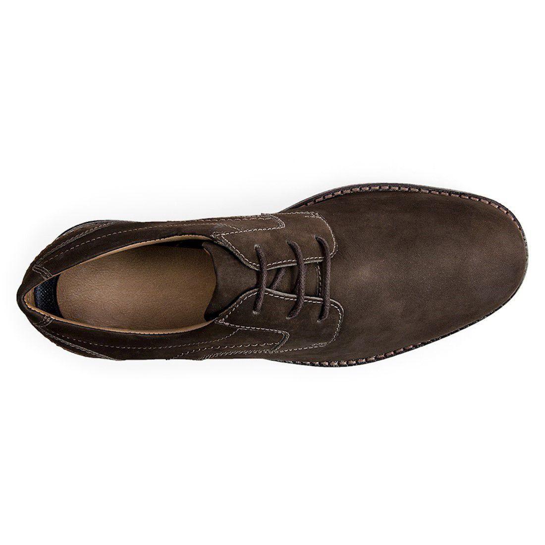 693dbba61 Sapato esporte fino masculino derby sandro moscoloni luca marrom escuro  coffee R  269