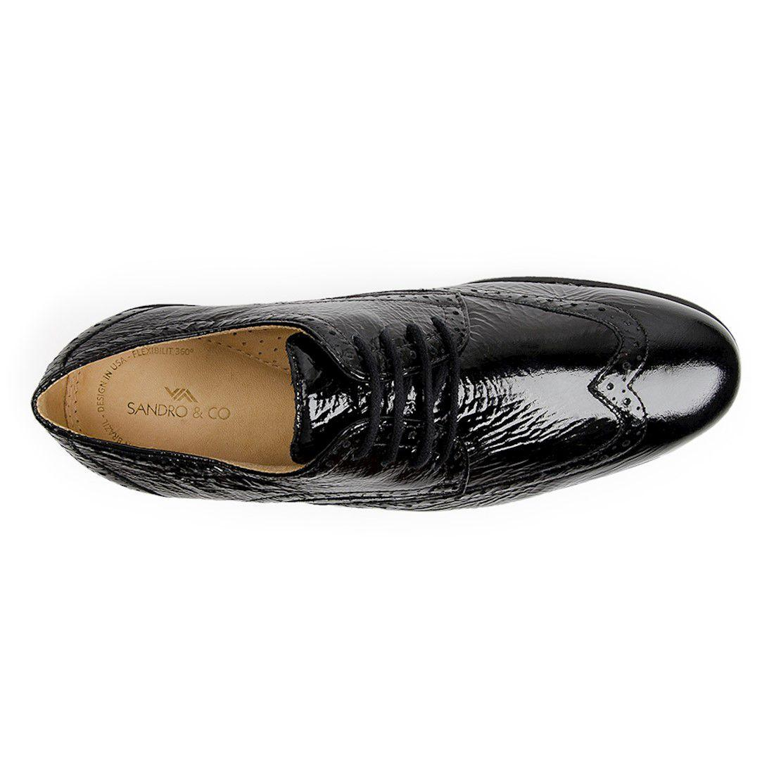 677e46824c Sapato esporte fino masculino oxford sandro moscoloni heward black R$  279,90 à vista. Adicionar à sacola