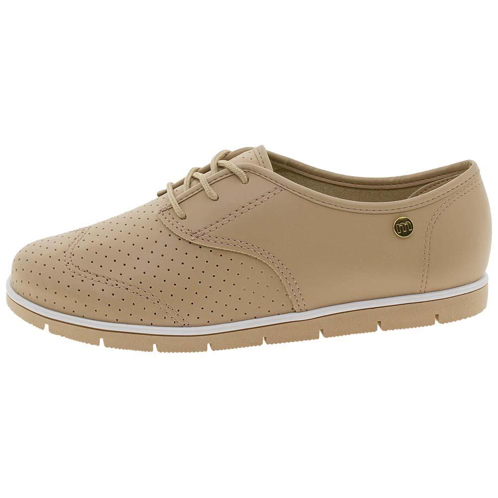 f2abccaac Sapato Feminino Oxford Moleca - 5613304 BEGE BEGE R$ 59,99 à vista.  Adicionar à sacola