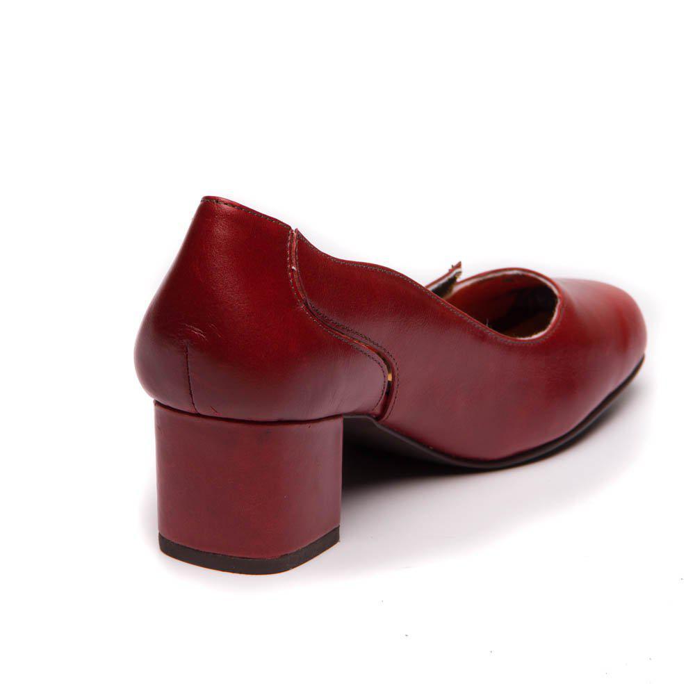 db1c96b286 Sapato Feminino Vermelho Amora 7317 - Brenda Lee - Loja mzq - Sapato ...