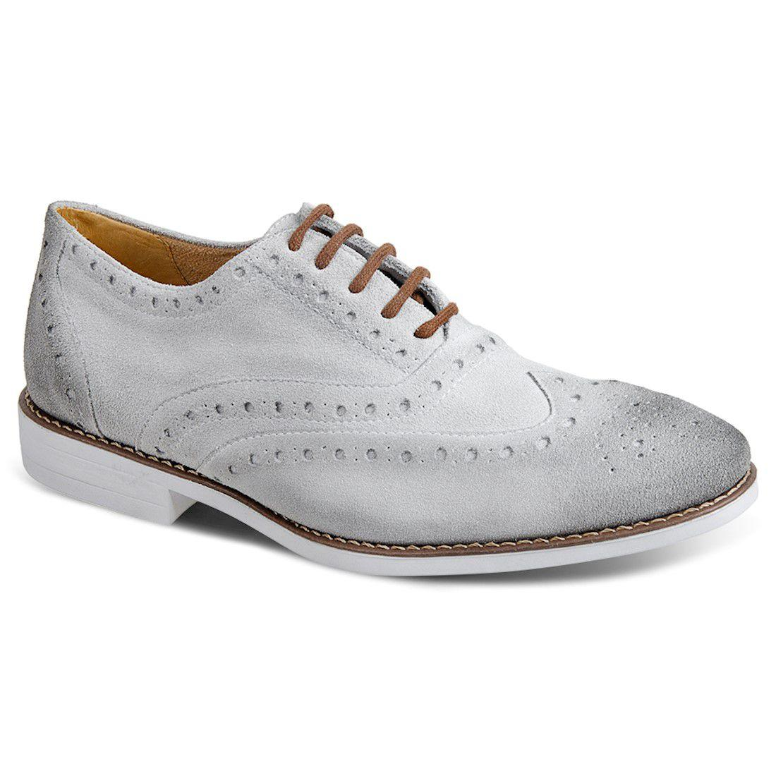a6605a652 Sapato masculino casual brogue sandro moscoloni pompéia cinza grey R$  289,90 à vista. Adicionar à sacola