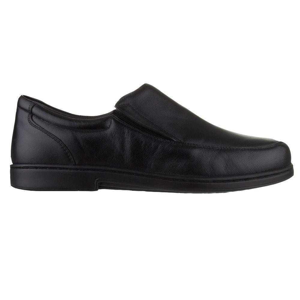fbb76364feca2 Sapato Masculino Doctor Pé 1919 - Preto - Doctor pe R$ 263,00 à vista.  Adicionar à sacola