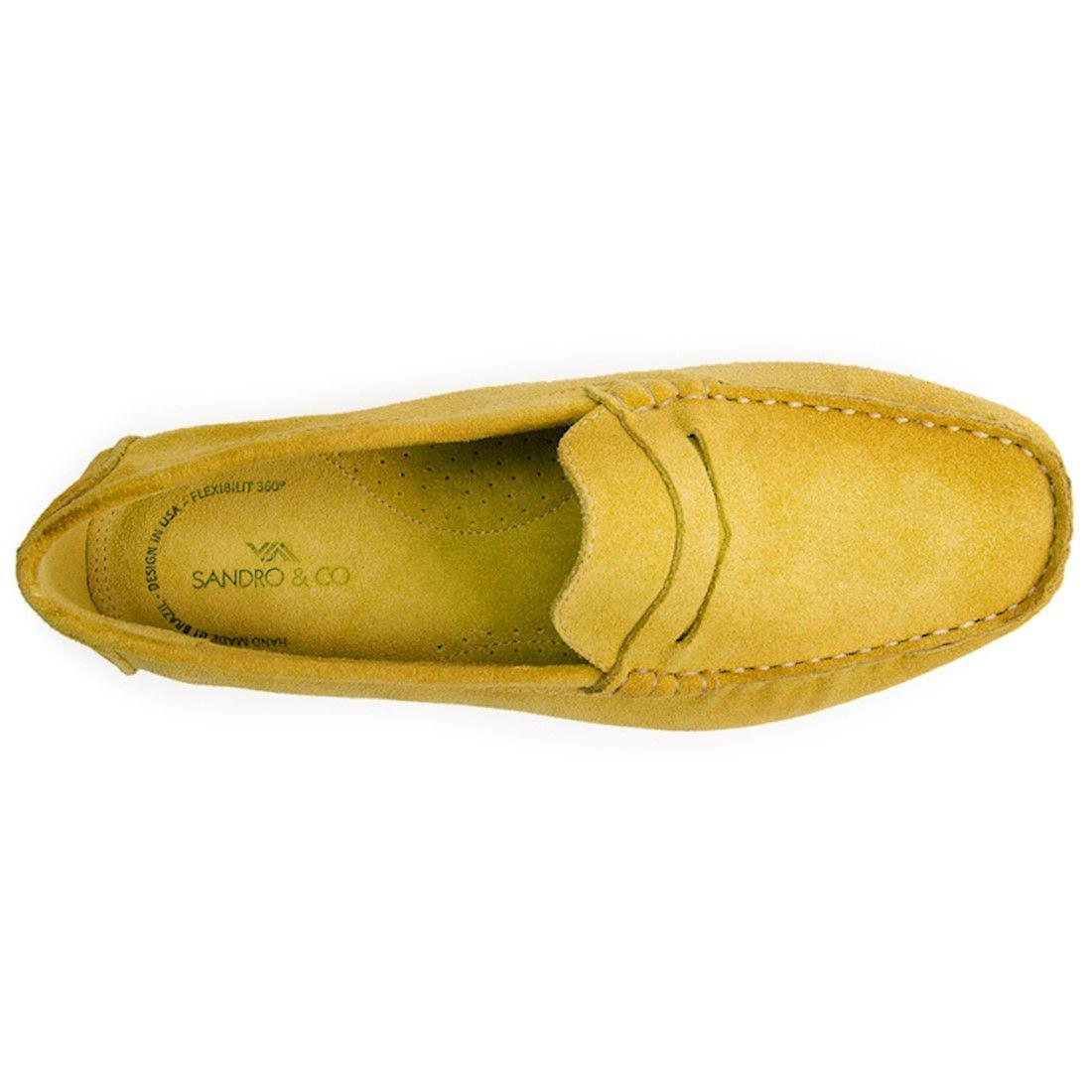 fc0addd0c Sapato masculino driver sandro moscoloni pitangueiras amarelo yellow R$  189,90 à vista. Adicionar à sacola