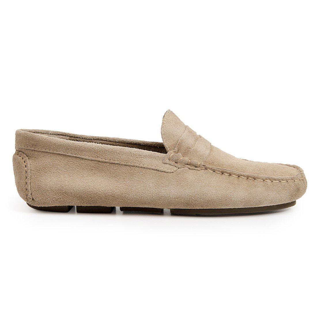 c5232249cb Sapato masculino driver sandro moscoloni pitangueiras bege bege R  189