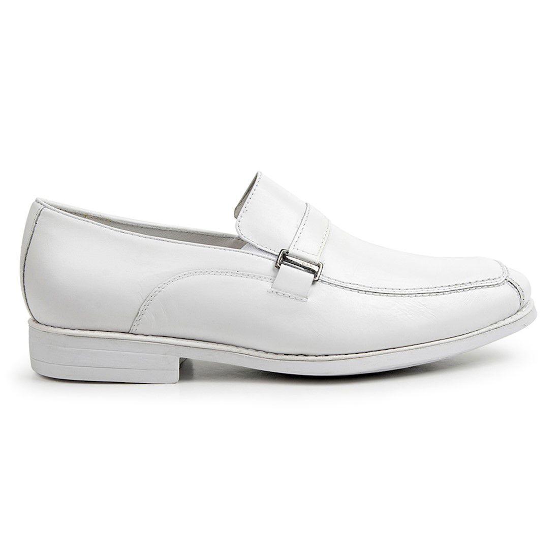 598649c253 Sapato masculino sandro moscoloni doctor comfort branco 46037 white R   299