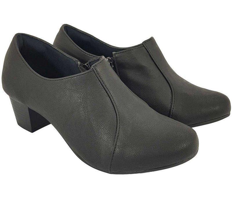 39030bc9f Sapato Salto Grosso Fechado Dom Amazona Numeros Grandes C416 - Dom amazona R$  99,99 à vista. Adicionar à sacola