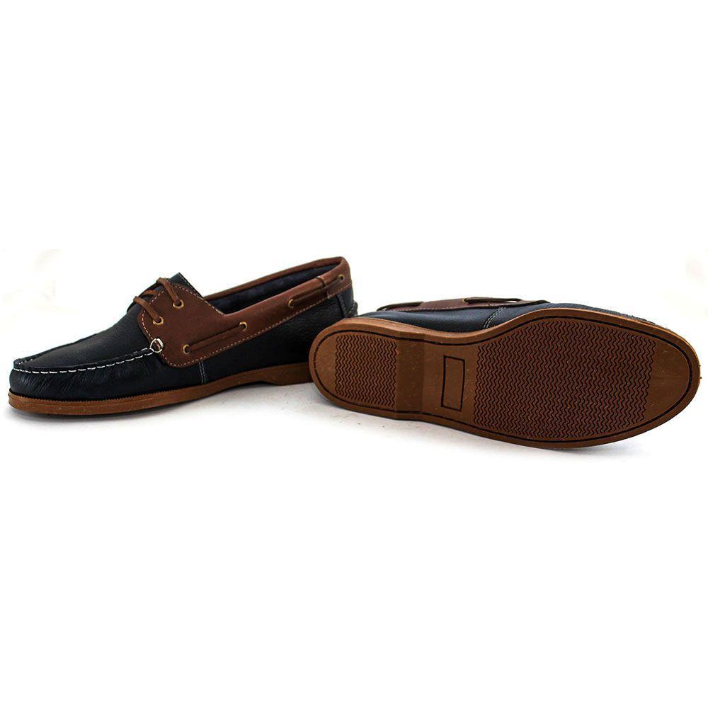 308da579f Sapato Sapatênis Casual Mocassim Couro Masculino Confort Floater Latego  Khaata Marinho R$ 79,00 à vista. Adicionar à sacola