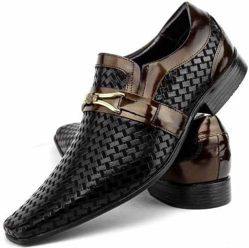 9b1def55e Sapato Social Masculino Couro Italiano Kit Cinto Carteira - Venetto R$  139,90 à vista. Adicionar à sacola