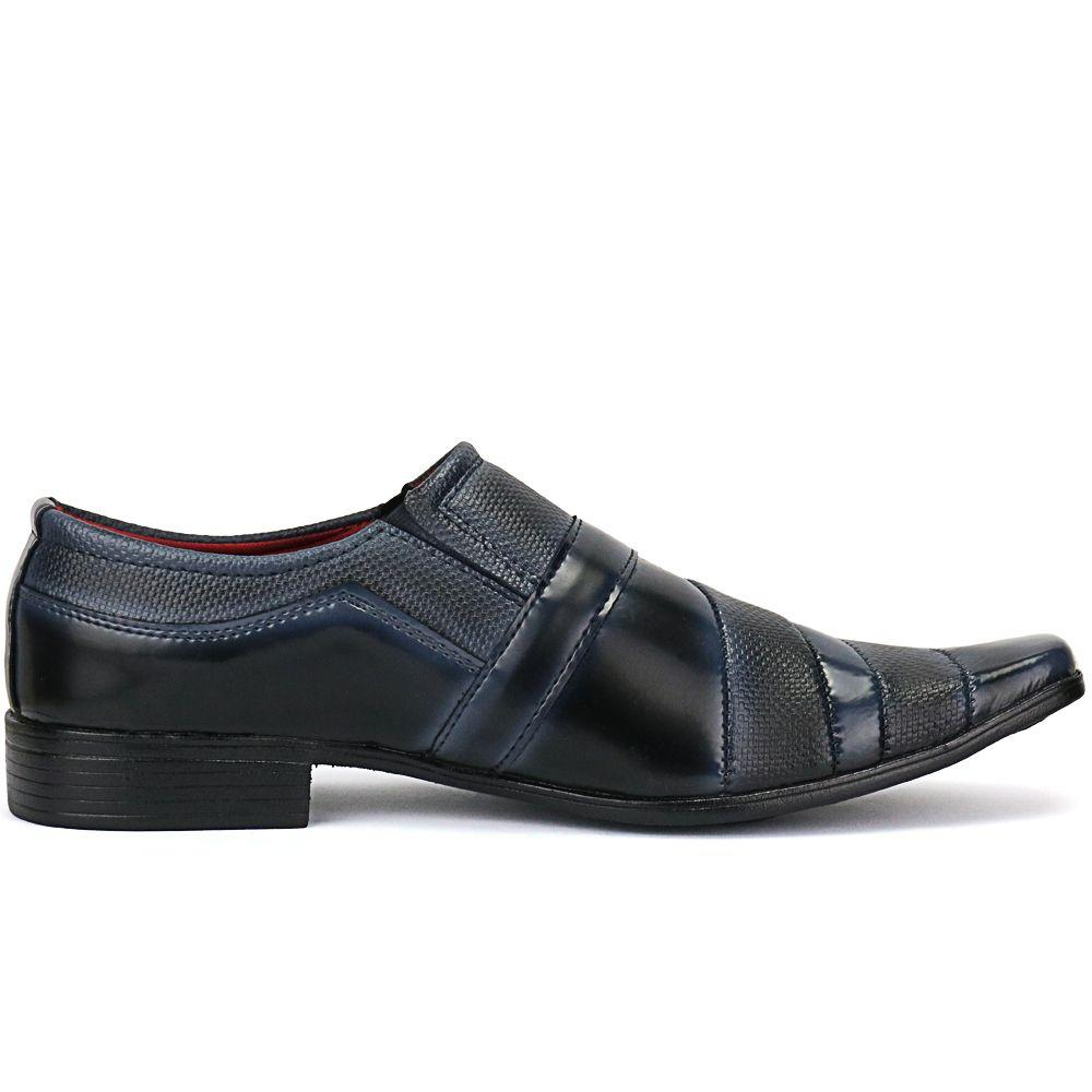 e5f84c7fcb Sapato Social Masculino Linha Italiano Exclusivo Cinto E Carteira - Ws shoes  R  89