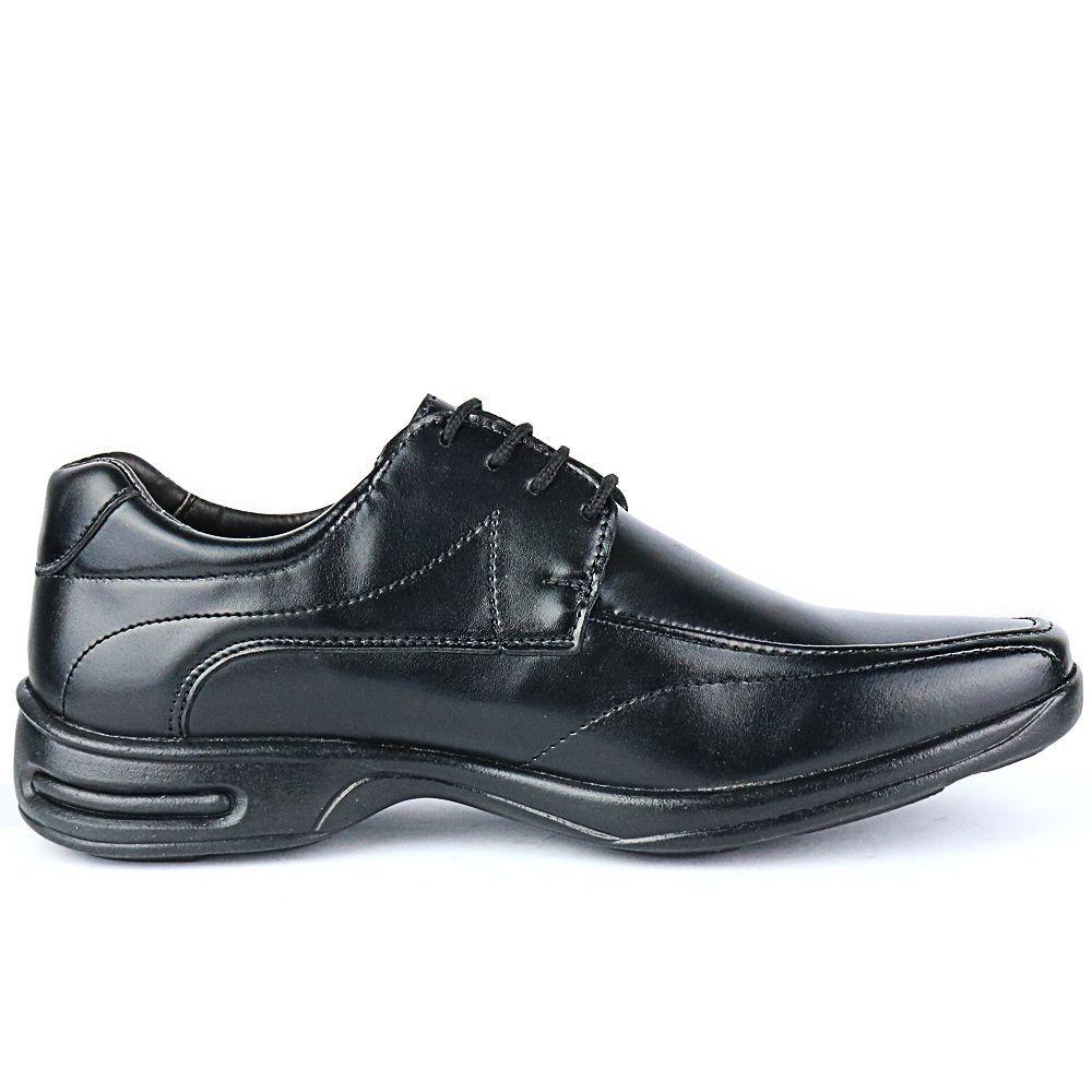 a23a8486d Sapato Social Masculino Ortopédico Linha Gel Lançamento Preto - Fran shoes  R$ 69,90 à vista. Adicionar à sacola
