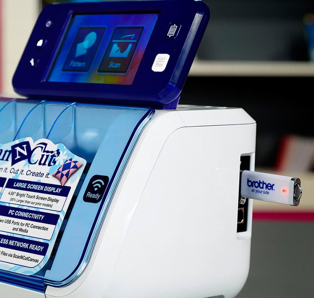 1fce9bd2a Scanncut 2 - máquina de corte cm650w com wireless e scanner integrado  brother Produto não disponível