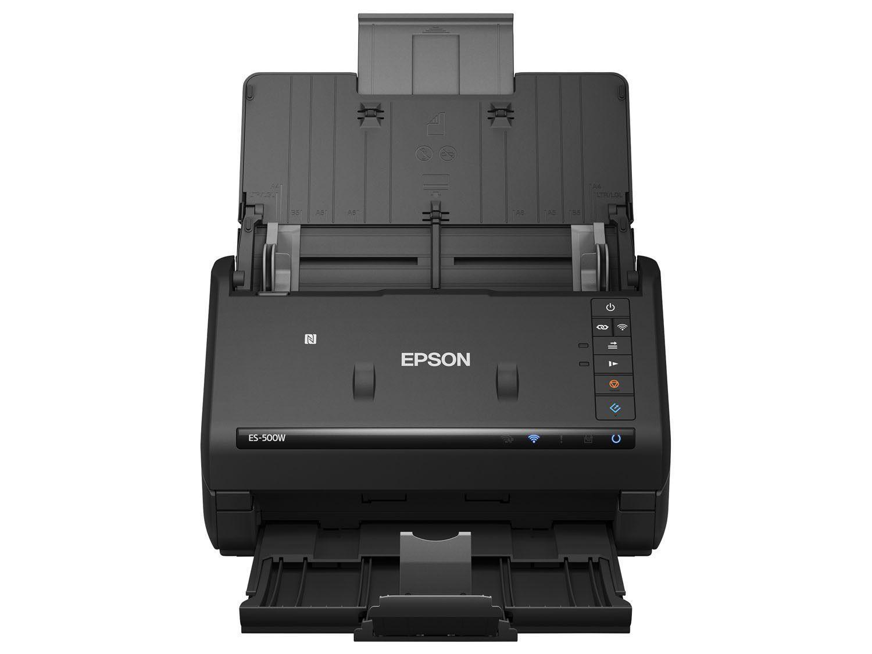 Scanner de Mesa Epson WorkForce ES500W - Colorido Wireless 600dpi Produto  não disponível