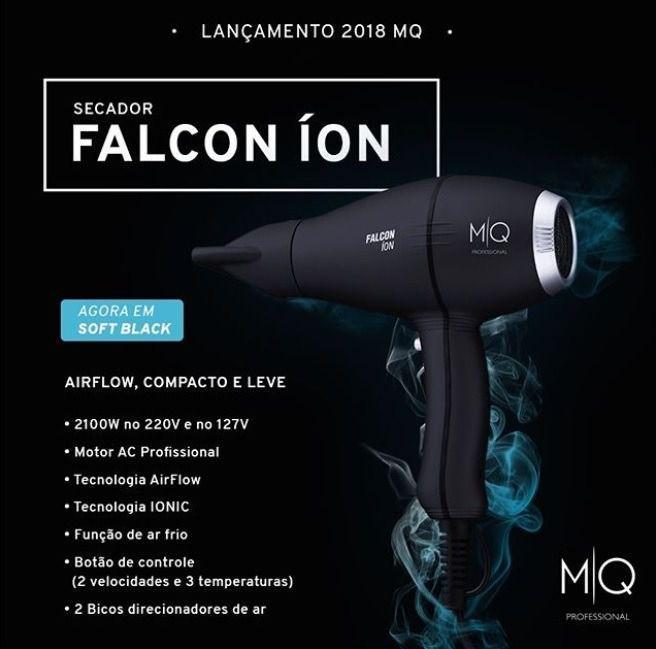 87bba565b Secador De Cabelo Falcon Íon 127v - Mq Hair R$ 279,90 à vista. Adicionar à  sacola