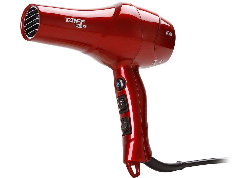 Secador de Cabelo Taiff Red com Íons - 1900W 2 Velocidades ab787088549a