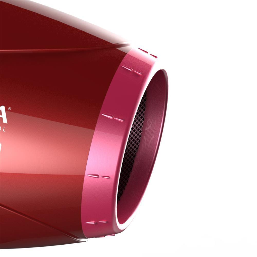 e099813d2 Secador de Cabelos GA.MA Italy Lumina Íon Motor AC Profissional e 3  Temperaturas 2200W Vermelho - Gama R$ 279,00 à vista. Adicionar à sacola