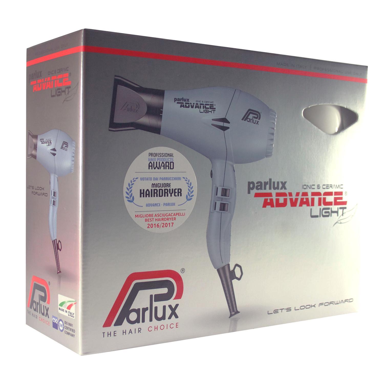 c667082c0 Secador Parlux Advance Light - Ionic Ceramic - Branco R$ 1.189,00 à vista.  Adicionar à sacola
