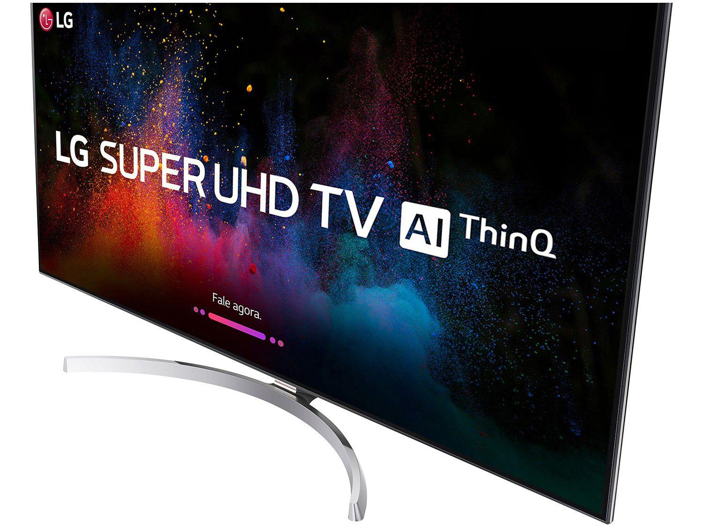 "Smart TV 4K NanoCell 55"" LG 55SK8500PSA Wi-Fi HDR"