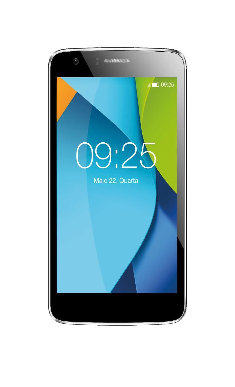 5cc6a218a9b Smartphone HM1630 16gb Tela 5 Dual Chip Desbloqueado Cinza - Happy Produto  não disponível
