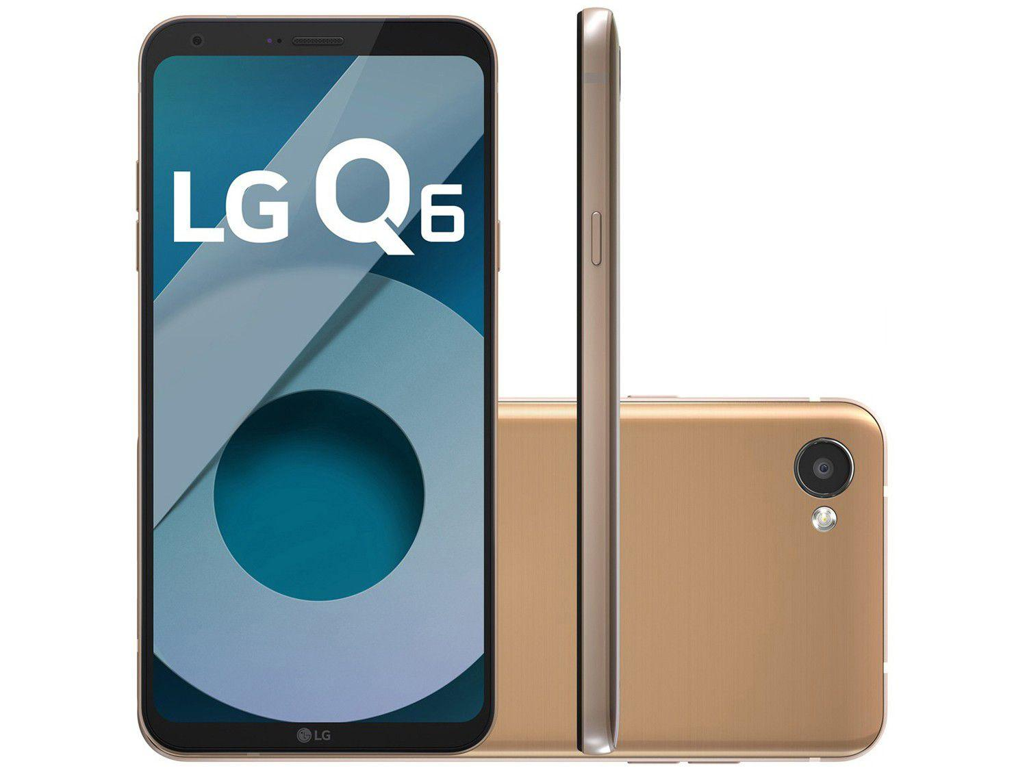 Smartphone Lg Q6 32gb Rose Gold Dual Chip 4g Cm 13mp Selfie Led 29 Mt 47 A 2