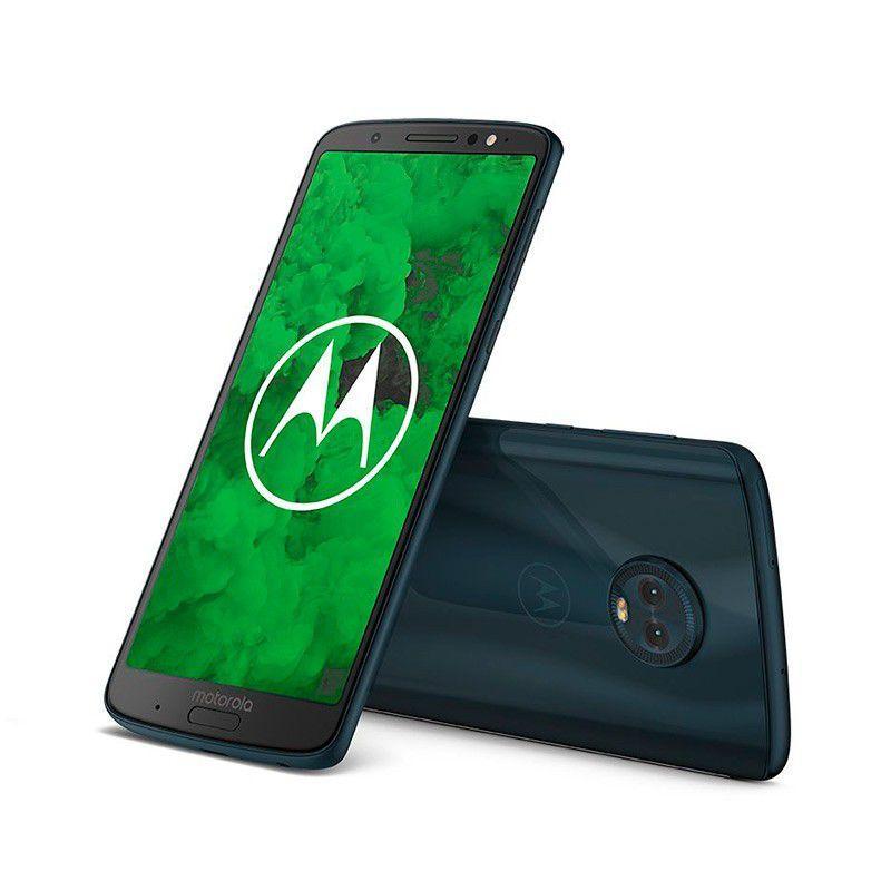 """1d908ba48 Smartphone Motorola Moto G6 Plus 64gb Dual chip Tela 5.9"""" Android 8 Oreo  Xt1926-8 Octa Core Indigo Produto não disponível"""