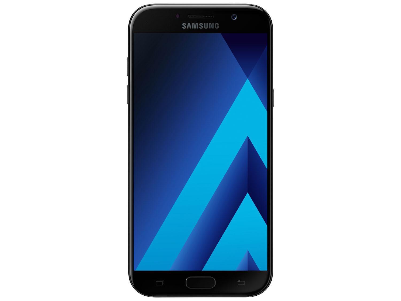 Celular Desbloqueado Samsung Galaxy S4 Mini 4g Preto Com: Smartphone Samsung A7 2017 32GB Preto Dual Chip