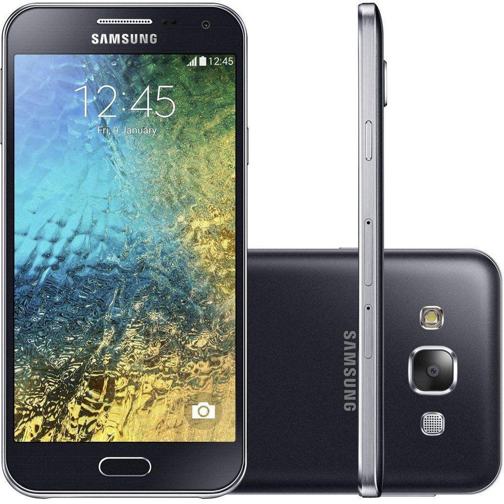 07148c9dcd Smartphone Samsung Galaxy E5 Duos SME500M 4G 16GB Câmera 8MP Tela 5 HD Dual  Chip Produto não disponível